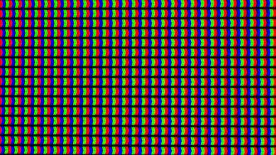 LG UF9500 Pixels Picture