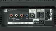 Sony X700D Rear Inputs Picture