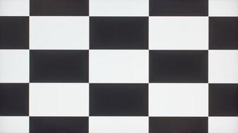 Gigabyte M32U Checkerboard Picture