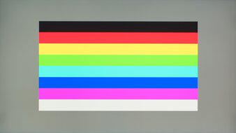 Razer Raptor 27 165Hz Color Bleed Horizontal