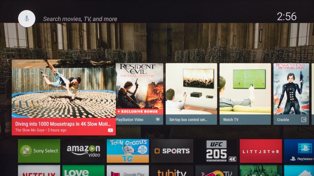 Sony X800E Smart TV Picture