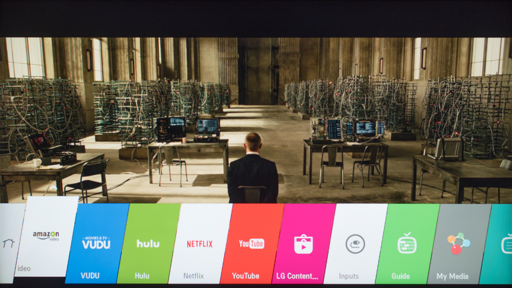LG LH5700 Smart TV Picture