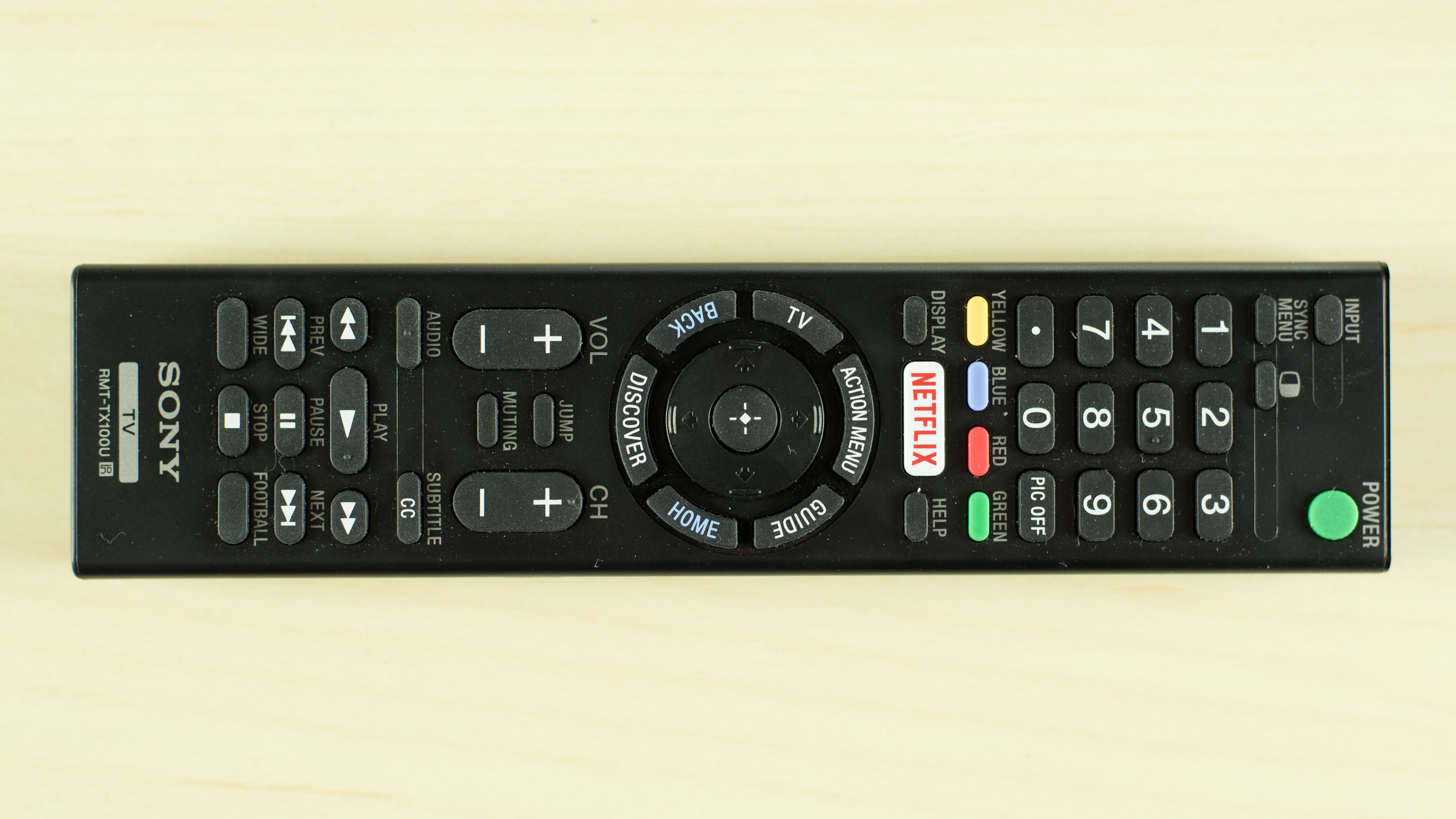 sony android tv remote. sony barvia android tv. is this possible with the standard remote control? http://i.rtings.com/images/reviews/w850c...-large.jpg tv b