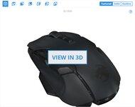 ROCCAT Kone AIMO Remastered 3D Model