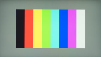 MSI Oculux NXG253R Color Bleed Vertical