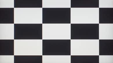Dell U2518D Checkerboard Picture