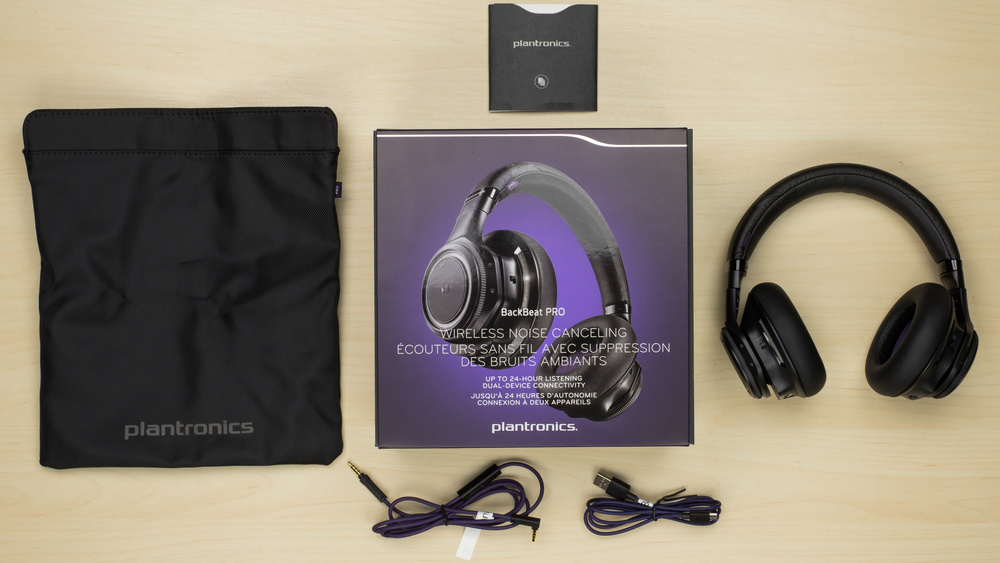 Plantronics Backbeat Pro Wireless 2014 In the box Picture