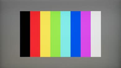 Dell U2518D Color bleed vertical