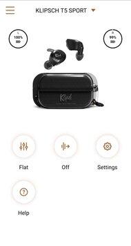 Klipsch T5 II True Wireless Sport App Picture