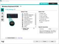 Logitech K360 Software Picture