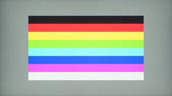 ASUS ROG Strix XG279Q Color Bleed Horizontal