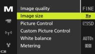 Nikon COOLPIX P1000 Screen Menu Picture