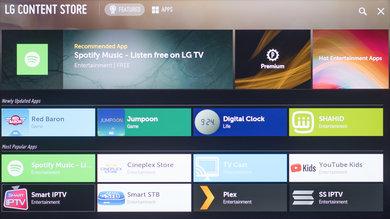 LG UM7300 Apps Picture