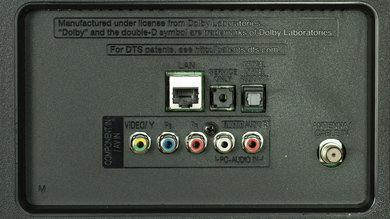 LG LF5800 Rear Inputs Picture