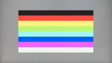 HP 27Q Color bleed horizontal