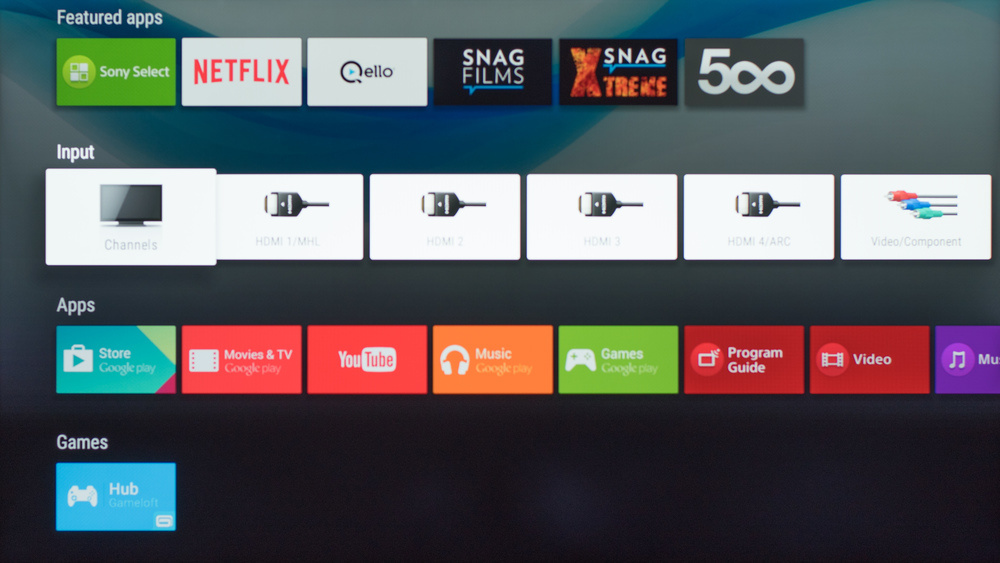 Sony W800C Smart TV Picture