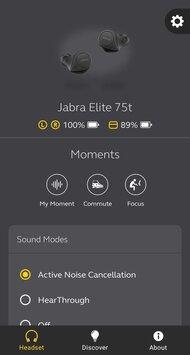 Jabra Elite 75t Truly Wireless App Picture