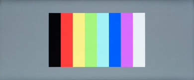 Dell U3417W Color bleed vertical