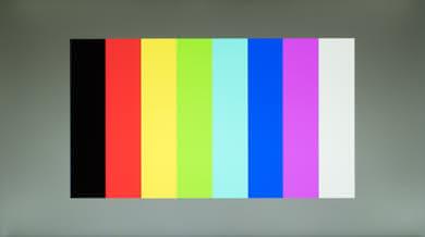 ASUS VG245H Color bleed vertical