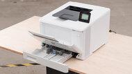 HP Color LaserJet Pro M454dw Build Quality Close Up