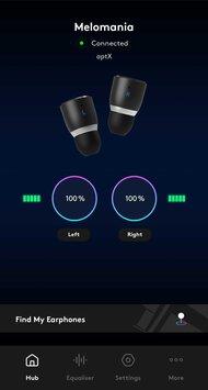 Cambridge Audio Melomania 1+ True Wireless App Picture