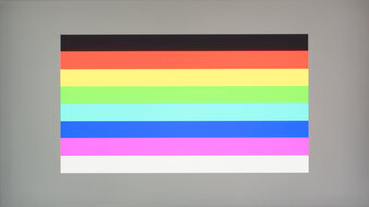 LG 27GN800-B Color Bleed Horizontal
