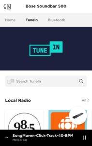 Bose Soundbar 500 App image