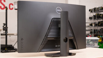 Dell S3222DGM Back Picture