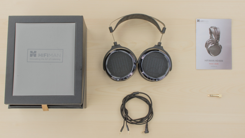 HiFiMan HE-400i In the box Picture