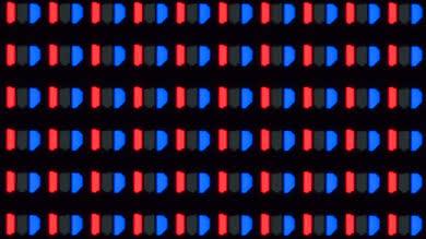 LG E8 OLED Pixels Picture