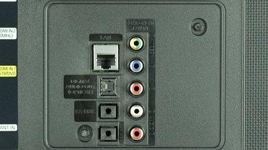 Samsung JU6400 Rear Inputs Picture