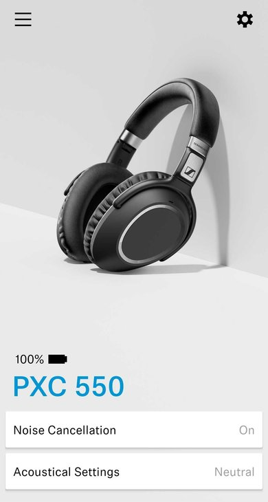 Sennheiser PXC 550 Wireless App Picture