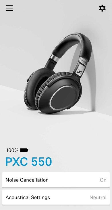 Sennheiser PXC 550 Wireless App Picture