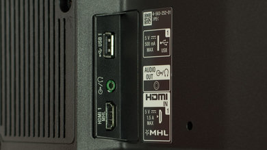 Sony W800C Side Inputs Picture