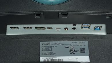 Samsung CHG90 Inputs 1