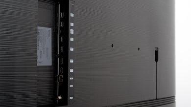 Samsung Q70/Q70R QLED Side Inputs Picture