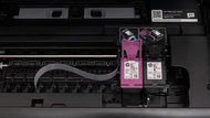 HP OfficeJet 5255 Cartridge Picture In The Printer