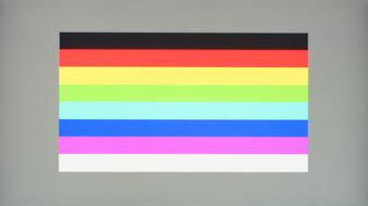 LG 27GN650-B Color Bleed Horizontal