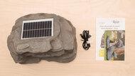 Alpine Corporation Solar Bluetooth Rock Speaker In The Box Photo