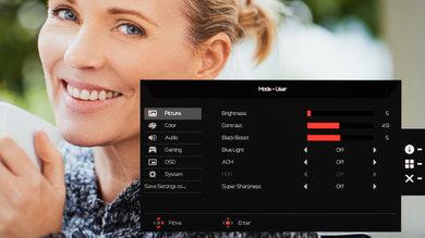 Acer Nitro VG271 OSD picture