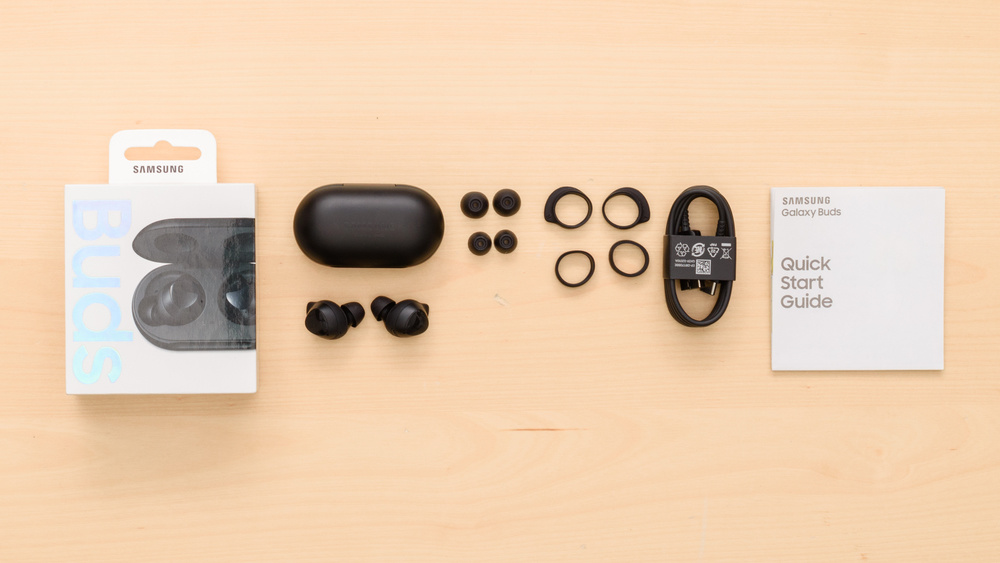 Samsung Galaxy Buds Truly Wireless In the box Picture