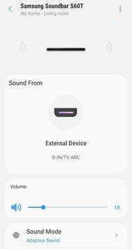 Samsung HW-S60T App image