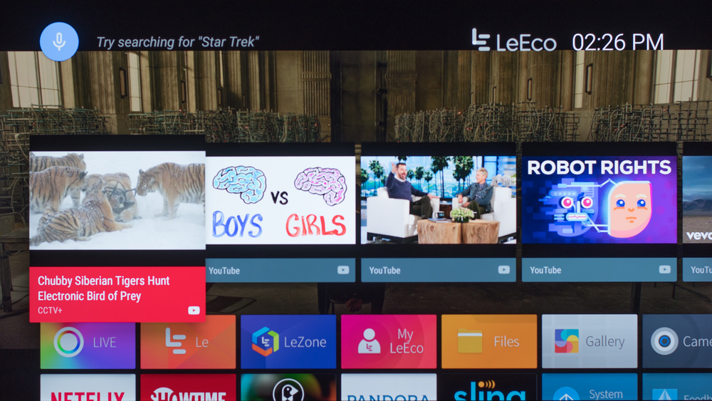 LeEco Super4 Smart TV Picture