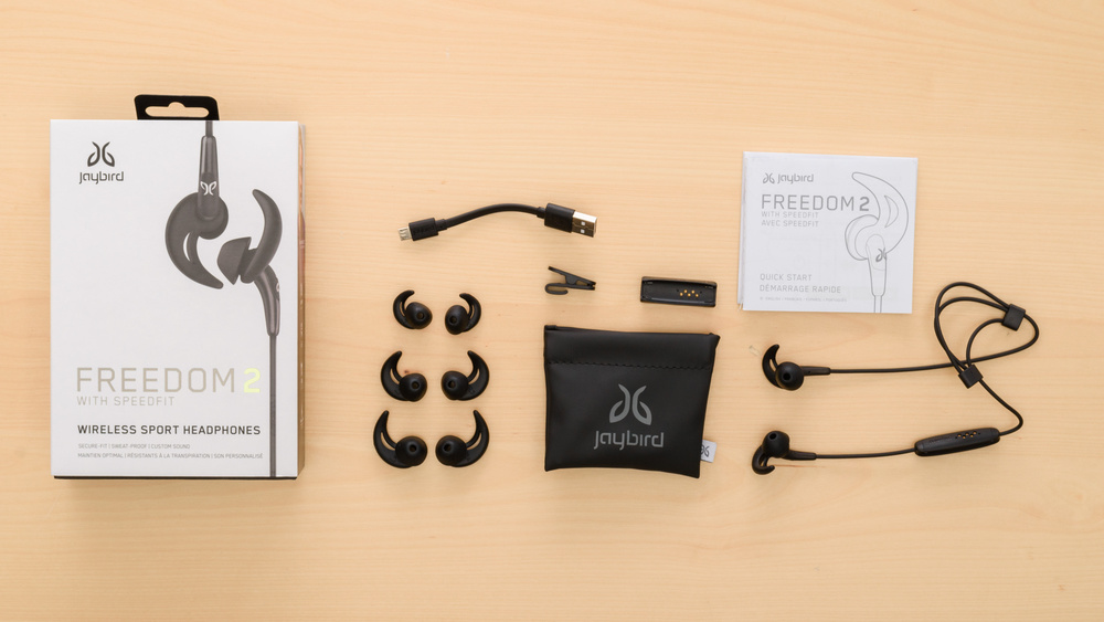 Jaybird Freedom 2 In the box Picture