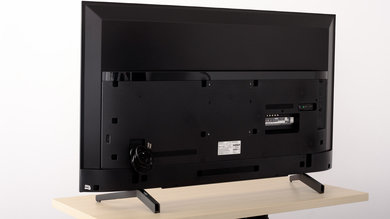 Sony X800G Back Picture