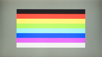 Acer Nitro RG241Y Color Bleed Horizontal