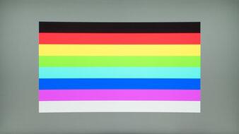 AOC CQ32G1 Color Bleed Horizontal