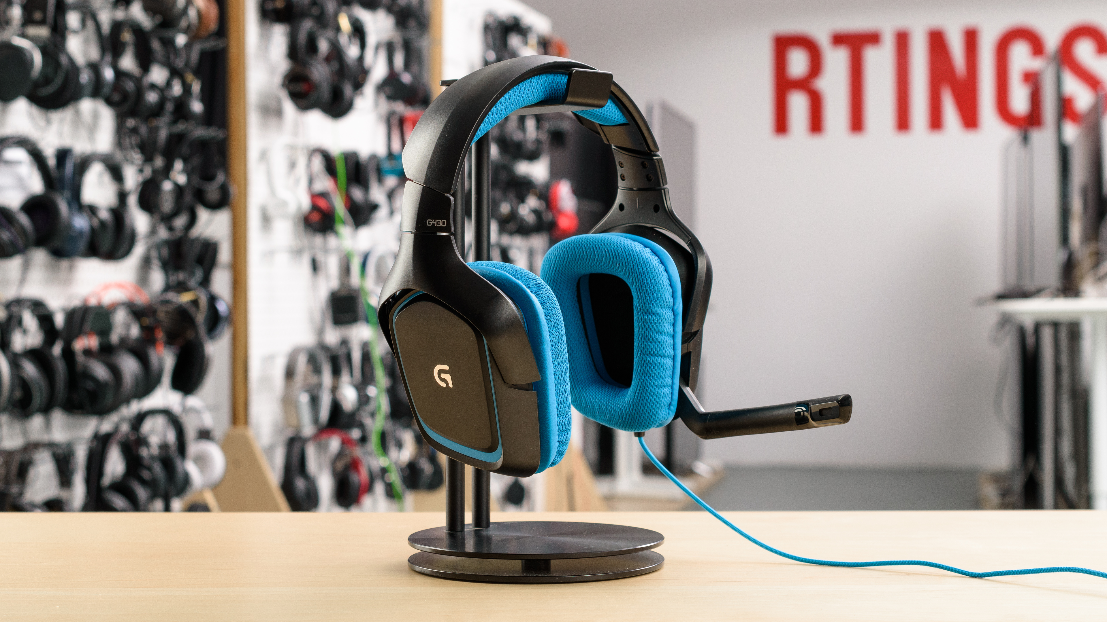 Logitech G430 vs Astro A10 Side-by-Side Comparison - RTINGS.com