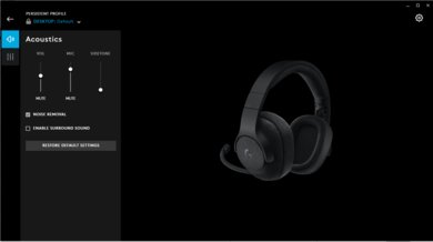 Logitech G433 Gaming Headset App Picture
