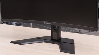 Gigabyte G32QC Stand Picture